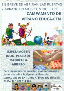 Campamento verano Huelva 2020